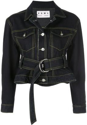 Proenza Schouler PSWL Rigid Denim Jacket