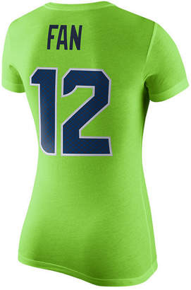 Nike Women's Fan Seattle Seahawks Color Rush Player Pride T-Shirt