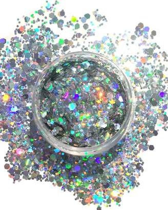 Rave Wonderland Holographic Chunky Glitter Large 15G Comestic Glitter Festival Rave Face Body Hair Nails