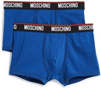 Moschino Stretch 2 Pack Trunks