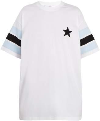 Givenchy Colombian-fit star-appliqué cotton T-shirt