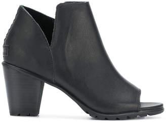 Sorel open toe bootie sandals