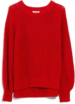 Madewell Balloon Sleeve Pullover Sweater