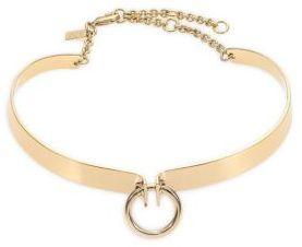 Alexis Bittar Miss Havisham Bar Choker Necklace $295 thestylecure.com