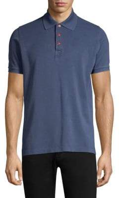 Kiton Short Sleeve Cotton Polo
