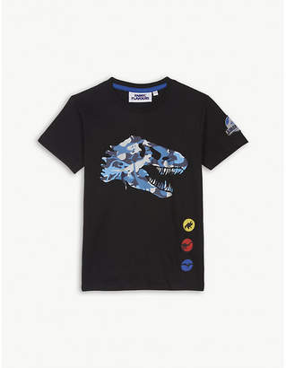 Fabric flavours Camouflage t-rex cotton T-shirt 3-10 years