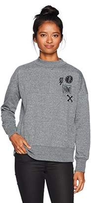 Volcom Women's Stayin High Crew Neck Fleece Sweatshirt