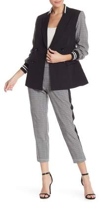 Rachel Roy Glen Plaid Slim Pants