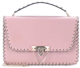 Valentino Demilune Small leather shoulder bag