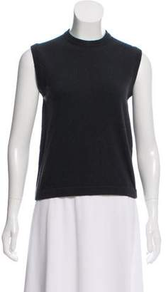 Hermes Cashmere Sleeveless Sweater