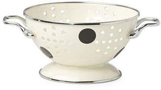 Kate Spade Deco Dot Stainless Steel Mini Colander