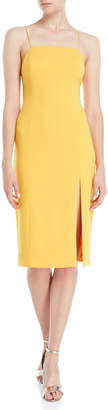 Jay Godfrey Skyler Slit Sheath Dress