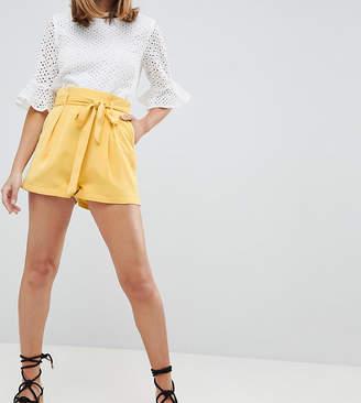 Fashion Union Petite High Waist Shorts