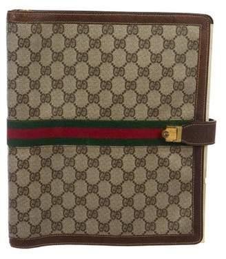 Gucci Vintage GG Web Agenda