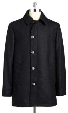 Lauren Ralph Lauren Wool-Rich Overcoat
