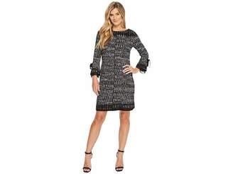 Nic+Zoe Ruffle Cuff Dress Women's Dress