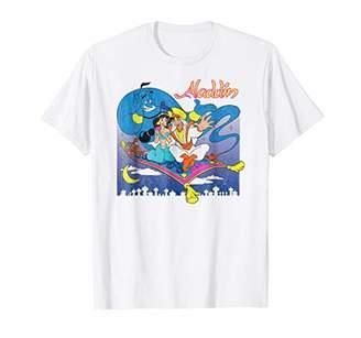 Disney Aladdin Magic Carpet Scene T Shirt
