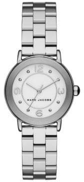 Marc Jacobs Riley Stainless Steel Timepiece