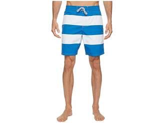 Lacoste Bold Stripe Long Length Men's Swimwear