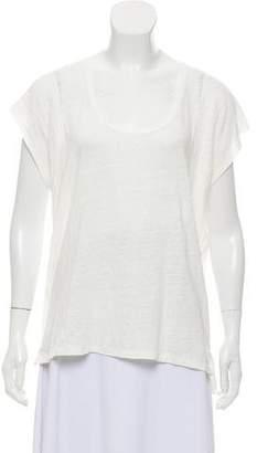 Rag & Bone Semi-Sheer Short Sleeve T-Shirt