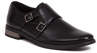 Deer Stags Men's Cyprus Memory Foam Dress Casual Comfort Double Monk Strap Shoe Men's Shoes
