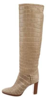Loro Piana Tower Bridge Crocodile Boots