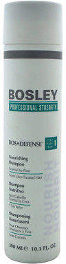 Bosley Bos-Defense Nourishing Shampoo for Normal To Fine Non Color-Treated Hair