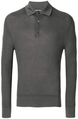 Tom Ford longsleeved polo shirt