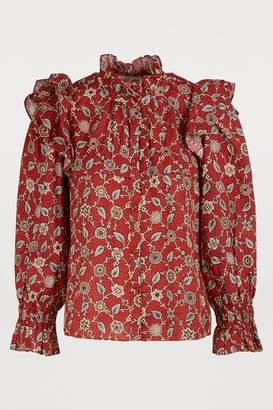 Etoile Isabel Marant Tedy linen shirt