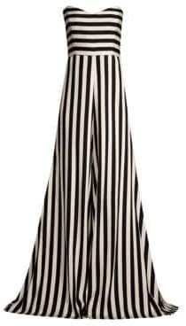 Caroline Constas Forbes Stripe Jumpsuit