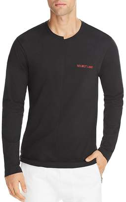 Helmut Lang Cut Neck Long Sleeve Tee