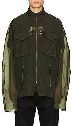 Oamc Men's M65 Tech-Organza Field Jacket - Olive