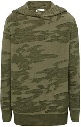 M&Co Camouflage hooded jumper