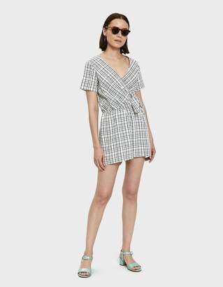 Farrow Valei Plaid Romper