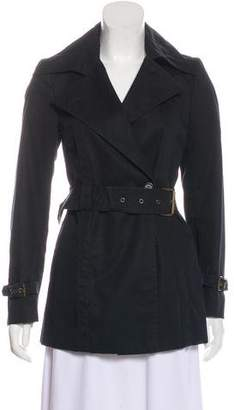 CNC Costume National Structured Belted Jacket