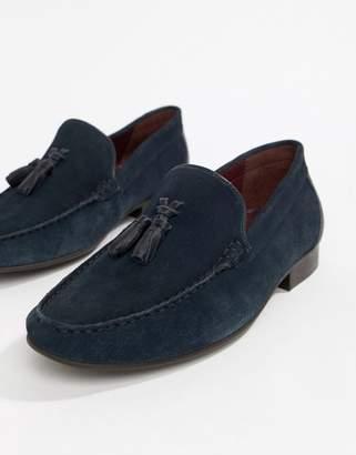 WALK LONDON WALK London Ben loafers in navy suede