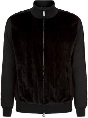 Stefano Ricci Mink Front Sweater