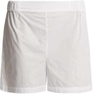 THREE GRACES LONDON Alcina high-rise cotton pyjama shorts