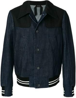 No.21 bomber style denim jacket