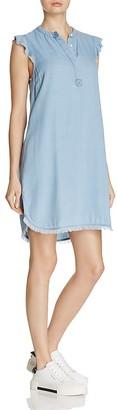 Splendid Chambray Henley Shirt Dress $148 thestylecure.com