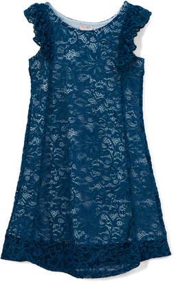 Kimi + Kai Girls' Sophia Lace A-Line Dress, Size 5-10