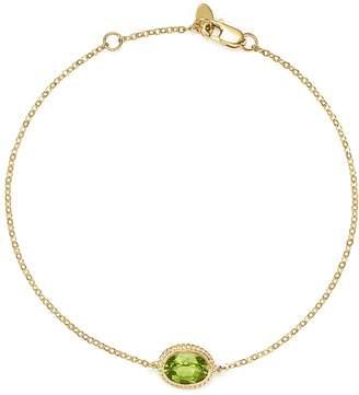 Bloomingdale's Peridot Oval Bracelet in 14K Yellow Gold - 100% Exclusive