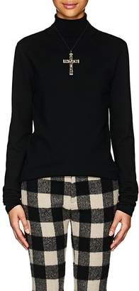 R 13 Women's Cashmere Turtleneck Sweater