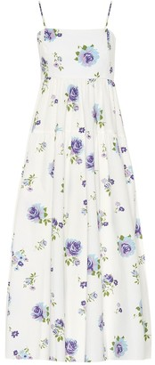 Les Rêveries Floral cotton dress