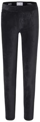 DL1961 Black Velvet Leggings