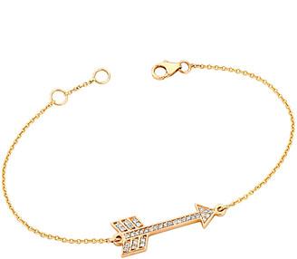 Ariana Rabbani 14K 0.17 Ct. Tw. Diamond Arrow Bracelet