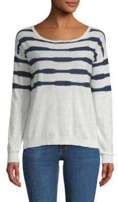 Splendid Las Olas Lightweight Striped Sweater