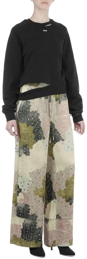 Off Decostruction Sweatshirt