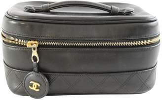 Chanel Leather vanity case