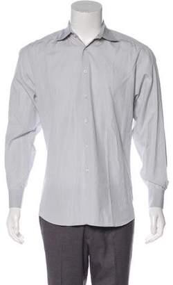 Prada Stripe Dress Shirt